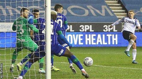 Wigan Athletic 1-1 Derby County: Martyn Waghorn rescues ...