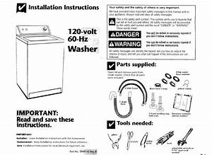 Whirlpool Lsr8233eq0 User Manual Home Washers Direct Drive