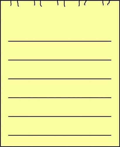 Paper Sheet Yellow Single Clip Clker Clipart