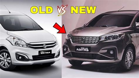 5 Major Differences Between Old And New Ertiga ! ! ! Youtube