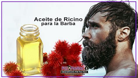 Aceite de Ricino para la Barba 【 Para qué sirve y Cómo