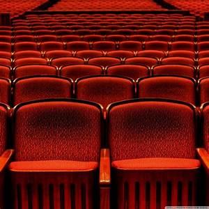 Red Theater Seats 4K HD Desktop Wallpaper For 4K Ultra HD