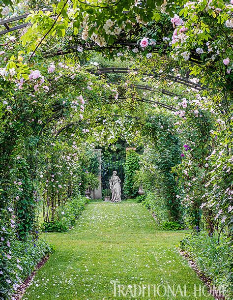 pretty orderly connecticut garden traditional home