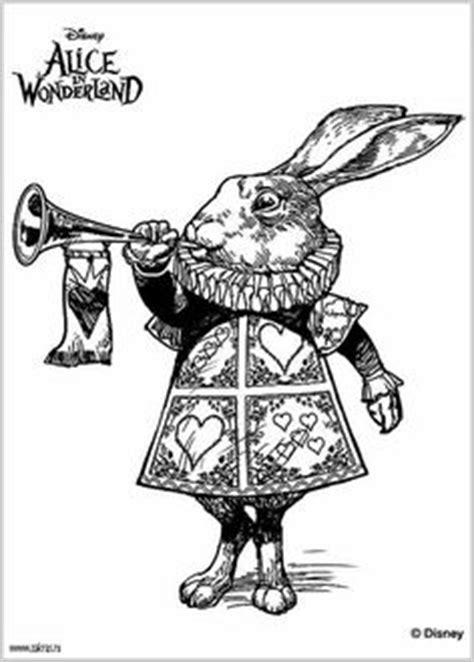 Tim Burton's Alice in Wonderland coloring page.   We're