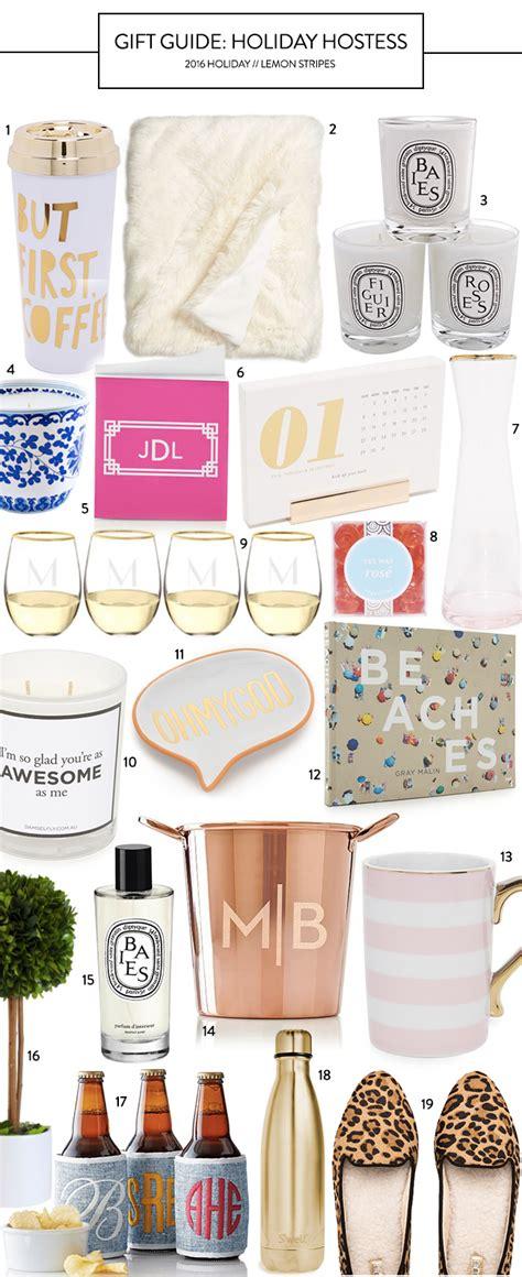 christmas hostess gifts to make hostess gifts lemon stripes
