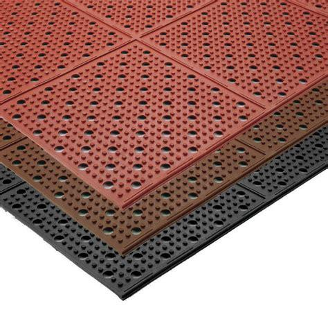 floor mats industrial multi mat ii reversible drainage anti fatigue floor mat 3 8 quot floormatshop com commercial