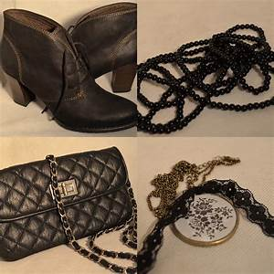 Schwarze Tasche H M : schwarze mode black obsession vorgestellt bei my dress ~ Watch28wear.com Haus und Dekorationen