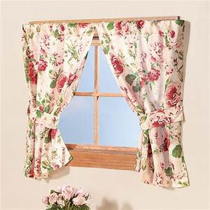 English floral window curtains window treatment walter for English floral curtains