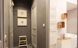 Couleur Peinture Couloir : loft nantes couloir ma tre en couleur ~ Mglfilm.com Idées de Décoration