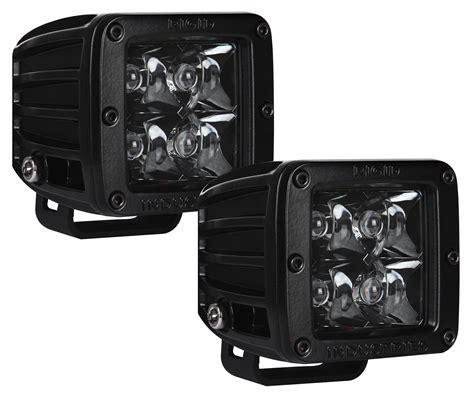 Rigid Industries Led Lights by Rigid Industries Dually Led Light Pair Midnight Edition