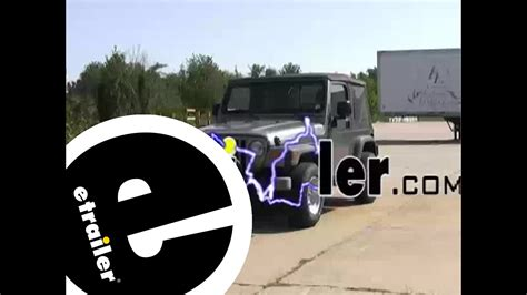 Jeep Trailer Wiring Harnes 2004 by Trailer Wiring Harness Installation 2004 Jeep Wrangler