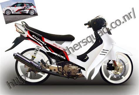 Kumpulan Gambar Modifikasi Suzuki Smash Keren Terbaru by Motor Sport Gambar Modif Suzuki Smash 110 Keren Terbaru 2014