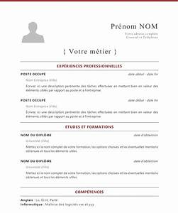 french cv template With french cv template