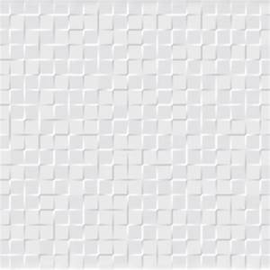 Carrelage Hexagonal Blanc : carrelage mural mosaique square blanca carrelage mosaique ~ Premium-room.com Idées de Décoration