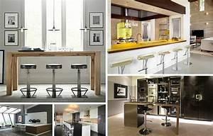 bar de cuisine design quelles sont les options With bar de cuisine design