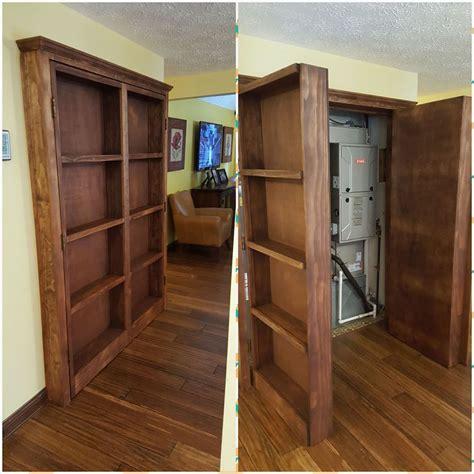 Closet Door Bookshelf by White Bookshelf Doors Closet Diy Projects