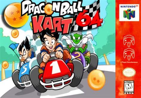 Mario kart 64 mario kart 64. Dragon Ball Kart 64 N64 Rom - Inmortal games