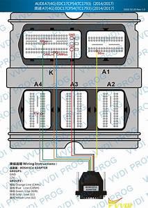 Audi Edc17cp54 Wiring Diagram To Xhorse Vvdi Prog