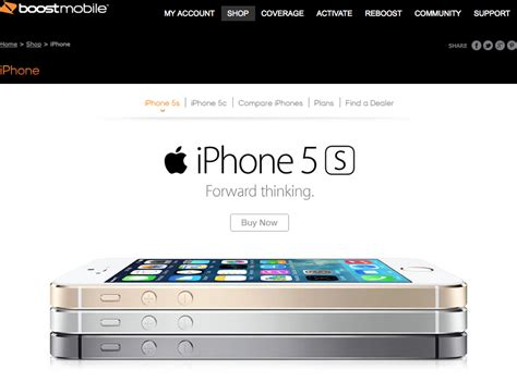 sprint prepaid iphone 5 boost mobile lands iphone 5s 5c 200 for new