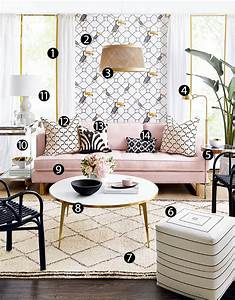 Highlow Boho Glam Living Room Style At Home