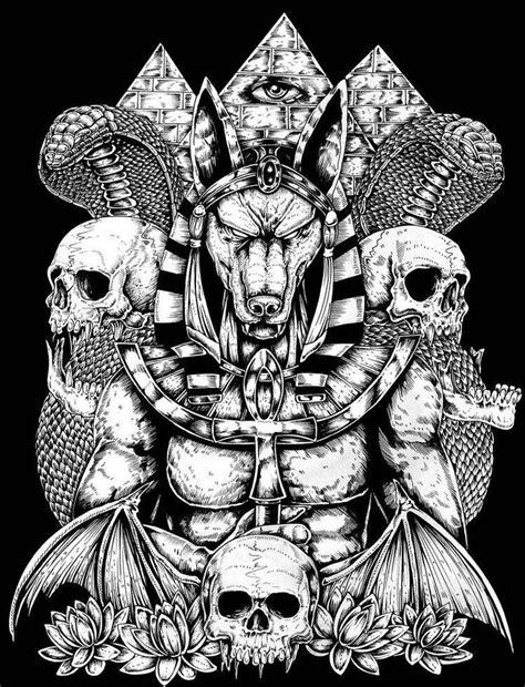 25+ Best Ideas About Anubis Tattoo On Pinterest Horus