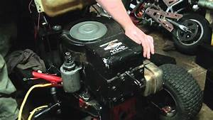 Cold    Old Start Of Briggs And Stratton 11 Horsepower