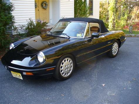 all car manuals free 1993 alfa romeo spider regenerative braking 1993 alfa romeo spider veloce convertible 2 0l hardtop low miles for sale photos technical