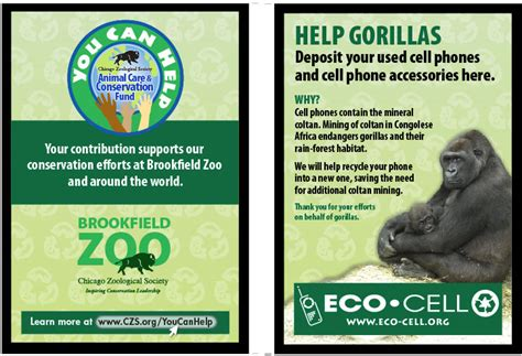 recycle cell phones for chicago zoological society cell phone recycling