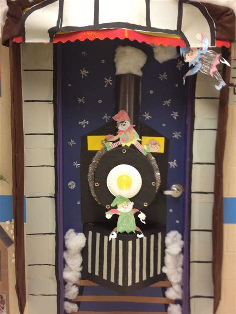 Polar Express Door Decorating Ideas by Door Kindergarten School Doors