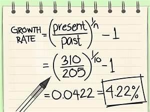 Spezifische Wachstumsrate Berechnen : berechnung einer wachstumsrate wikihow ~ Themetempest.com Abrechnung