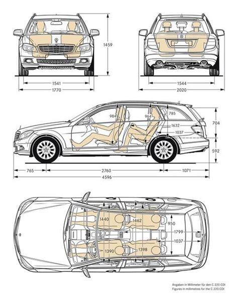 Mit dem facelift hält eine neue lenkradgeneration einzug, deren kapazitive sensoren im. Mercedes-Benz C 250 CDI T 4MATIC BlueEFFICIENCY - 2008 | Autokatalog - Maße und Gewichte