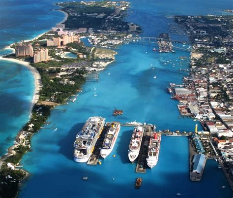 nassau new providence island bahamas cruise port schedule cruisemapper