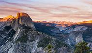 Glacier Point View Yosemite National Park