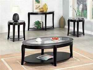 black glass coffee table set living room thelightlaughedcom With black and glass coffee table sets