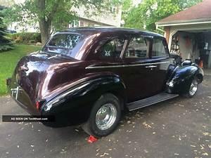 1939 Buick Special Ed Eight Sedan Good Running Condition