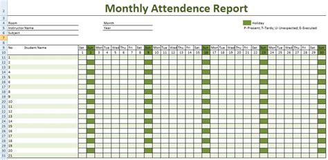 Record Template In Excel by How To Keep Record Of Employee Attendance Microsoft
