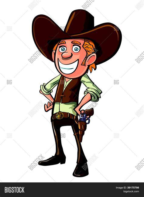 cowboy ready  draw stock vector stock  bigstock