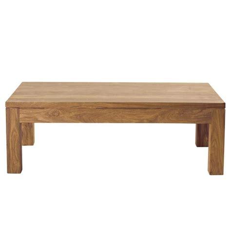 table bois massif table basse en bois de sheesham massif l 110 cm stockholm maisons du monde