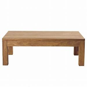 Table Basse En Bois De Sheesham Massif L 110 Cm Stockholm