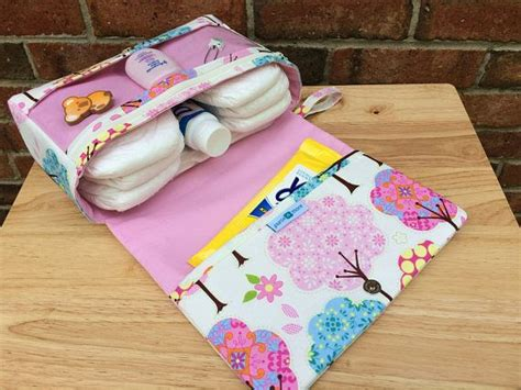 Pink Diaper Bag Pretty Little Trees Girly