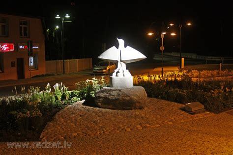 Tēlnieka Jāņa Karlova skulptūra