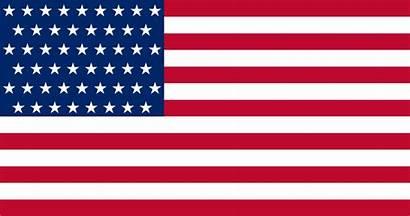 Flag 51 American Star Render Am Blinking