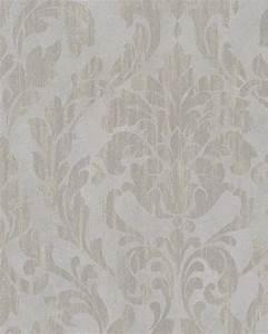 Tapete Ornamente Grau : tapete vlies ornamente glanz grau taupe beige marburg 58034 ~ Buech-reservation.com Haus und Dekorationen