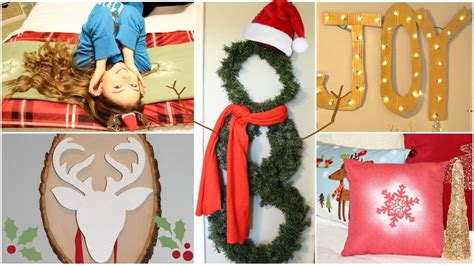 diy holidaywinter room decorations gift ideas youtube