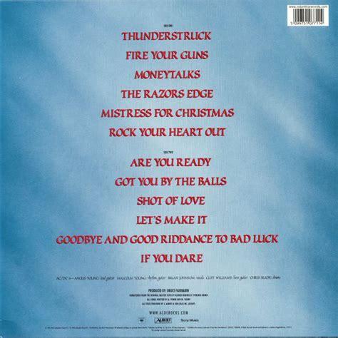 acdc  razors edge vinyl  juno records