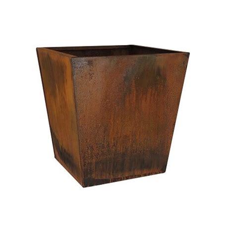 corten steel planter box reviews allmodern