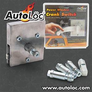 Autoloc 564555 Autewsu Electric Window Crank Switches