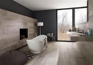 Bois ou carrelage pour le sol de la salle de bain viving for Carrelage adhesif pour sol salle de bain