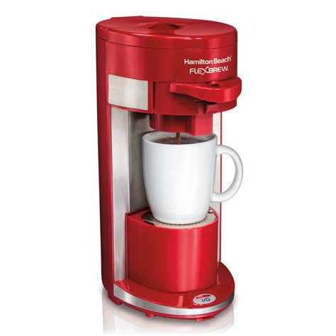 Looking into the hamilton beach systems, they come along with unique supports like the flexbrew, brewstation, and others which are exclusively available here. Hamilton Beach Flex Brew 10 oz. Single-Serve Coffee Maker ...