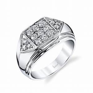 husar39s house of fine diamonds 14kt white gold men39s flat With flat top mens wedding rings